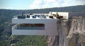墨西哥铜峡谷的悬崖餐厅创意设计