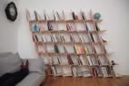 斜型书架创意设计,无需胶水螺丝大小由你搭建