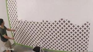 迪士尼的智能墙壁,整面墙都是触摸屏创意设计