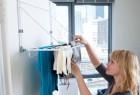 实用方便的折叠晾衣架创意设计