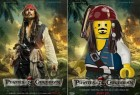LEGO乐高版电影海报创意广告