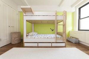 简约时尚的一体式定制儿童床创意设计