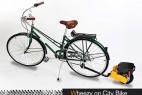 自行车助力小推轮创意设计