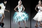 炫彩光衣裙创意设计