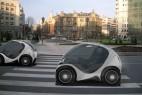 hiriko环保概念小汽车创意设计