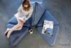 多功能三角组合毛毯创意设计