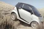 Smart汽车广告创意设计 竟然自黑