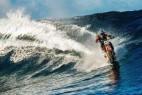 摩托车冲浪创意,你敢玩吗?