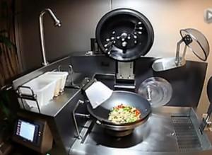 德国自动做饭机创意设计,做完饭连锅都洗干净