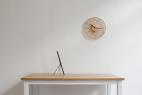 5个步骤完成的挂钟创意,传统竹丝工艺颠覆了你对时钟的认知
