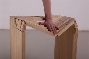 软硬兼备的木凳子创意设计