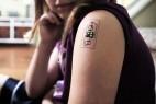 纹在皮肤的智能穿戴设备创意,tech,tats创意设计