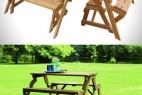 方便的长椅与长桌创意设计